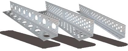 Προφίλ  Ξηράς Δόμησης - Γωνιόκρανα και Διάτρητα Προφίλ προστασίας άκρων γυψοσανίδας