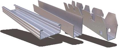 Προφίλ για Ψευδοροφές Ξηράς Δόμησης - Σύστημα Duro-Steel™ D-518