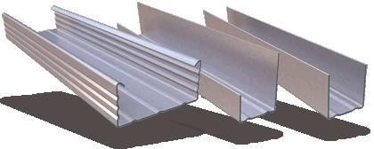 Προφίλ για Ψευδοροφές Ξηράς Δόμησης - Σύστημα Duro-Steel™ D-627