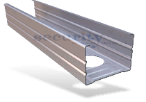 Dry-Wall Profile Systems -  Duro-Steel™ Partition Systems - Stud 150/50 & 125/40 profile and Track 150/40 & 125/40 profile