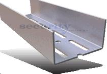 Προφίλ  Ξηράς Δόμησης -   Συστήματα Προφίλ Χωρισμάτων - Προφίλ UA